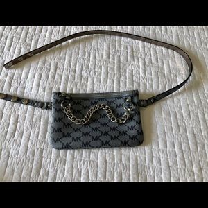 Michael Kors Belt Bag Blue